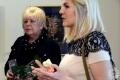 Ольга Лукьяненко с дочерью. Полоцк. Художественная галерея. 2017