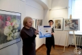 Открытие выставки «Акватория. Натюрморт» Светланы Врублевской. Художественная галерея, Полоцк, 2017