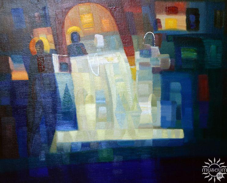 Выставка живописи Николая Бущика. Полоцк, Художественная галерея, 2016