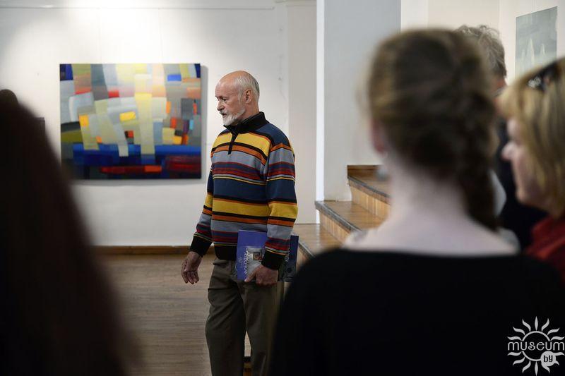 Открытие выставки живописи Николая Бущика. Полоцк, Художественная галерея, 2016