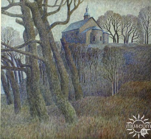 Г.Ф. Шутаў «Каложская царква» (1986 г.)