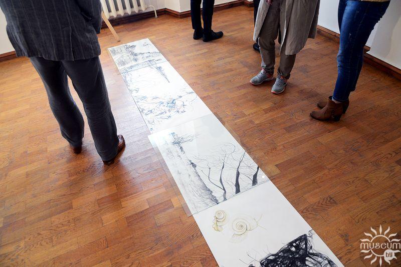 Адкрыццё выставы па выніках VIII Міжнароднага пленэра жывапісу «Art-rain». Полацк, Мастацкая галерэя, 2017