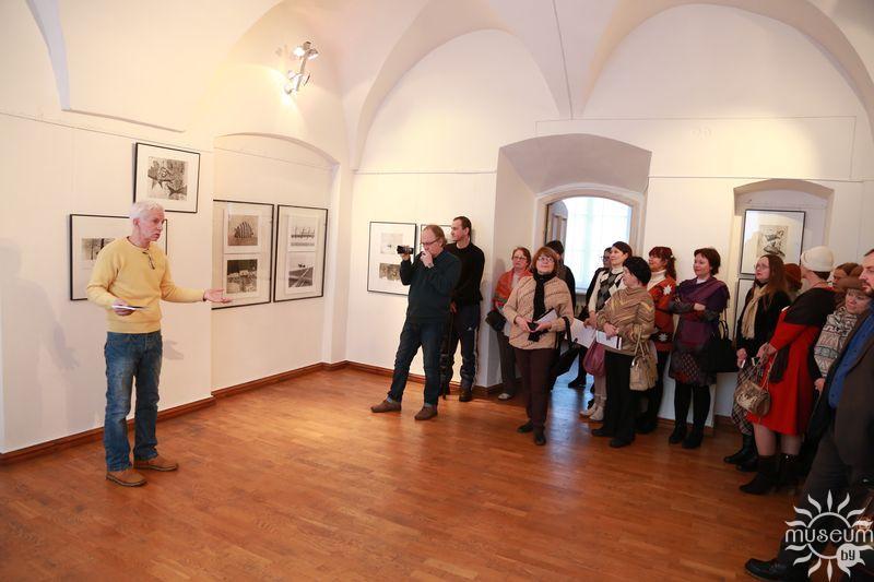Открытие выставки Сергея Баленка «Будет время – заходи…». Полоцк, Художественная галерея, 2016