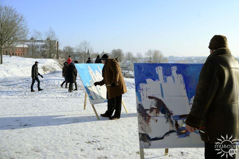 Пленэр живописи. Полоцк, 2016
