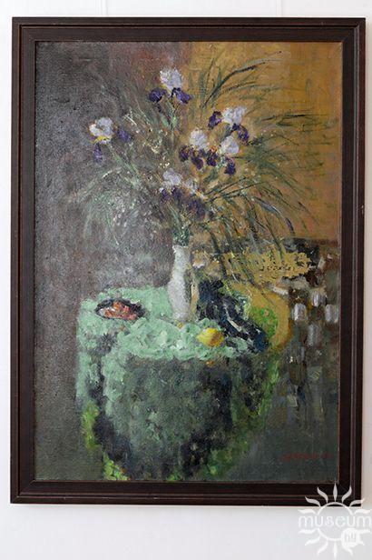 Выставка живописи Марии Исаёнок «Квітнеючыя сусветы». Полоцк, Художественная галерея, 2016