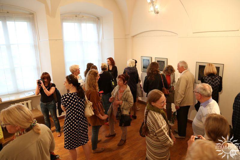 Открытие выставки графики Марины Кругликовой «Медитации». Полоцк, Художественная галерея, 2016