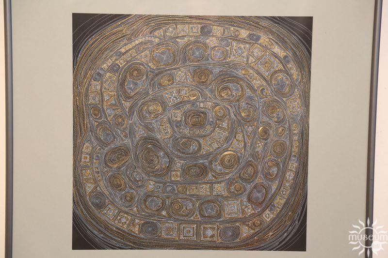 Выставка графики Марины Кругликовой «Медитации». Полоцк, Художественная галерея, 2016