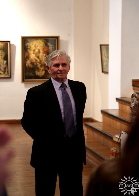Персональная выставка акварелей Виктора Михайловича Лукьянова. Полоцк, Художественная галерея, 2016