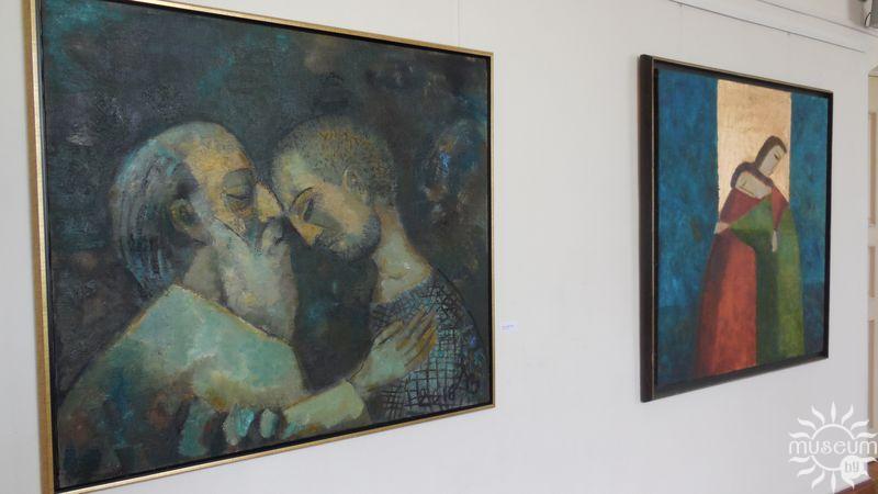 Выстава «Высокі бераг» Зоі Ліцвінавай. Полацк, Мастацкая галерэя, 2017