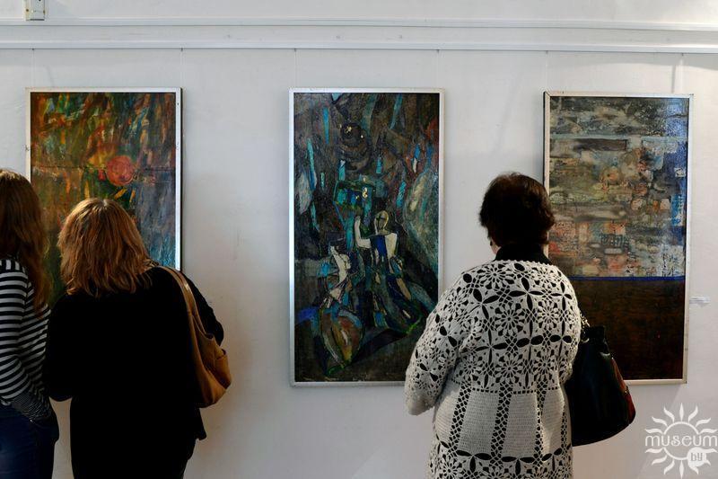 Выстава Валянціны Ляховіч «Палімпсесты». Полацк, Мастацкая галерэя, 2017