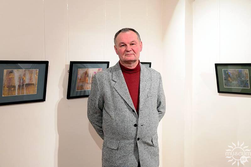 Персональная выставка гуаши и рисунка Леонида Медведского «Пейзаж». Полоцк, Художественная галерея, 2016