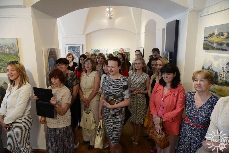 Открытие выставки пленэра «Полоцк в произведениях современных художников». Полоцк, Художественная галерея, 2016