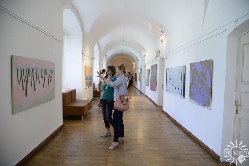 Открытие выставки живописи Бориса Семилетова «Уроки природоведения». Полоцк, Художественная галерея, 2016