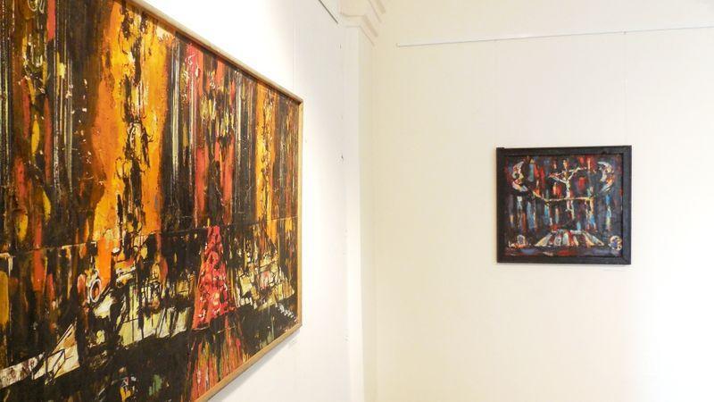 Юбилейная выставка живописи Александра Александровича Соловьёва. Полоцк, Художественная галерея, 2016