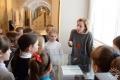 Музейные занятия «Тайны настенной живописи Спасского храма». Полоцк, Художественная галерея, 2018