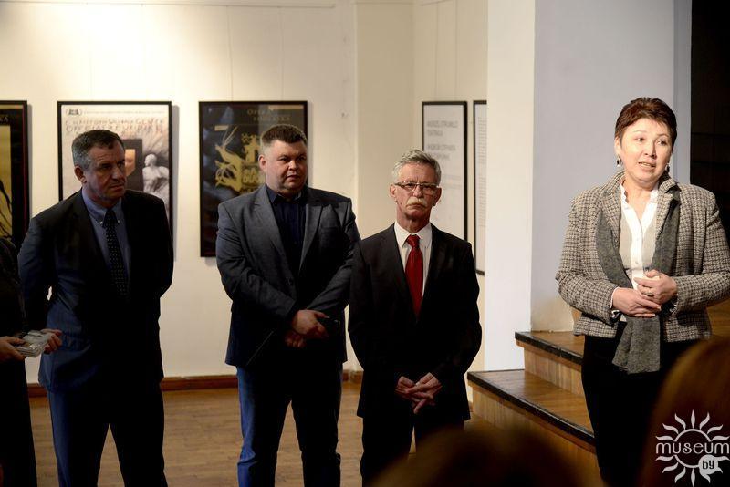 Открытие выставки польского художника и деятеля культуры Анджея Струмилы «ТЭАТРАЛІЯ». Полоцк, Художественная галерея, 2016