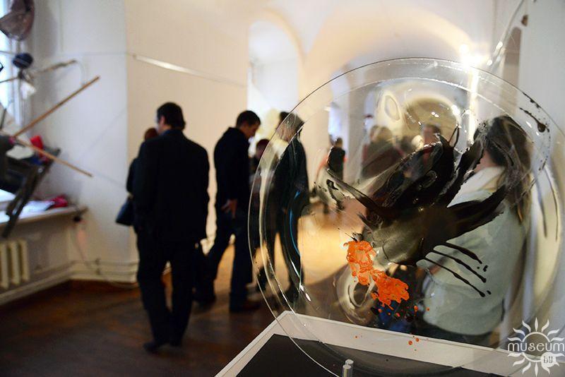 Открытие мультимедийного проекта  П. Войницкого «Асабісты Чарнобыль». Полоцк, Художественная галерея, 2016